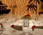 Diner van einde van het jaar