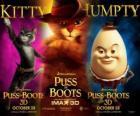Poster van de film De Gelaarsde Kat