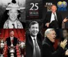 2011 FIFA presidentiële Award voor Alex Ferguson