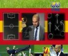 Coach van het jaar FIFA 2011 voor mannen voetbal winnaar Pep Guardiola