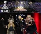 Madonna in de Super Bowl 2012