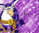 Big the Cat, de grote kat die wordt weergegeven in de avonturen van Sonic
