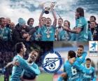 FK Zenit Sint-Petersburg, kampioen van de Russische Football League, Premjer-Liga 2011-2012