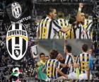 Joventus, de Italiaanse voetbalbond League kampioen - Lega Calcio 2011-12