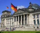 De Reichstag, Frankfurt, Duitsland