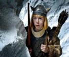 Vicky de Viking verrast