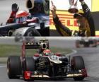 Romain Grosjean - Lotus - Grand Prize van Canada (2012) (2e plaats)