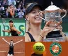 Maria Sharapova Roland Garros 2011 kampioen
