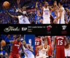 NBA Finals 2012, 1ste Match, Miami Heat 94 - Oklahoma City Thunder 105