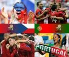 Tsjechische Republiek - Portugal, kwartfinales, Euro 2012