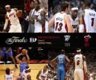 NBA Finals 2012, 5 th spel, Oklahoma City Thunder 106 - Miami Heat 121