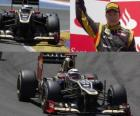 Kimi Räikkönen - Lotus - Europese Grand Prix (2012) (gerangschikt 2e)