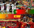 Portugal - Spanje, halve finales Euro 2012