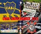 Boca Juniors vs Corinthians. Copa Libertadores Finale 2012
