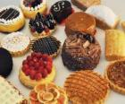 Verschillende gebak