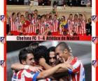 Atlético de Madrid kampioen 2012 UEFA Super Cup