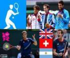 Tennis mannen enkelspel Londen 2012
