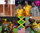 Atletiek-Mannen, 100 meter Londen 2012