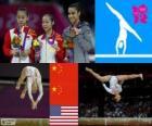 Artistieke gymnastiek Evenwichtsbalk Londen 2012