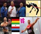 Atletiek-Mannen discuswerpen Londen 12