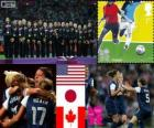 Vrouwenvoetbal Londen 2012