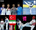 Taekwondo - 68kg mannen Londen 2012
