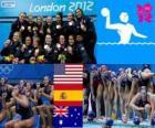 Waterpolo vrouwen Londen 2012