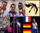 Atletiek Mannen polsstokhoogspringen Londen 2012