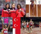 Vrouwen 1500 meter Londen 2012