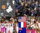 Vrouwen basketbal Londen 2012
