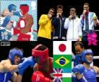 Boksen Middengewicht-75 kg mannen Londen 2012