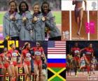 Atletiek 4x400m vrouwen Londen 2012