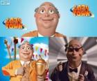 Burgemeester Milford Meanswell. Milford Meanswell is de burgemeester van Lazy Town