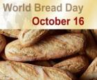 16 Oktober, Werelddag van brood