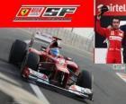 Fernando Alonso - Ferrari - Grand Prix van de India 2012, 2e ingedeeld