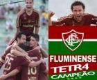Fluminense Football Club Kampioen van de 2012 Braziliaanse kampioenschap