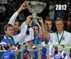 Tsjechische Republiek, kampioen van de Copa Davis 2012