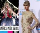 Taylor Swift, Music Awards 2012