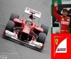 Fernando Alonso - Ferrari - Grand Prix van Brazilië 2012, 2º ingedeeld