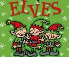 Drie elfjes van de kerstman