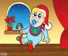 Baby met Kerstmis
