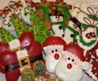 Prachtige kerst biscuits van verschillende vormen