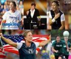 FIFA Women's World Player of the Year 2012 winnaar Abby Wambach