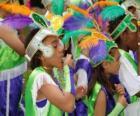 Kinderen in Carnaval