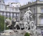 Fontein van Cibeles, Madrid, Spanje