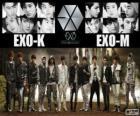 EXO is een Zuid-Koreaanse-Chinese jongensband
