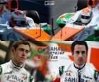 Sahara Force India F1 Team 2013, Paul di Resta en Adrian Sutil