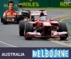 Fernando Alonso - Ferrari - Grand Prix van Australië 2013, 2º ingedeeld