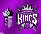 Logo Sacramento Kings, NBA-team. Pacific Division, Western Conference