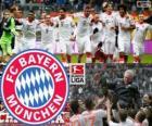F. C. Bayern Munich, kampioen van de Bundesliga 2012-2013